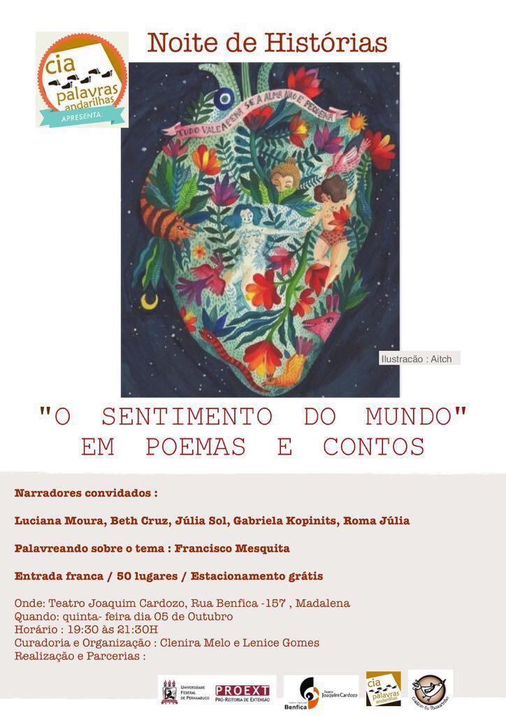 9f55b6df4b58f Teatro Joaqui Cardozo sediou mais um Noites de História