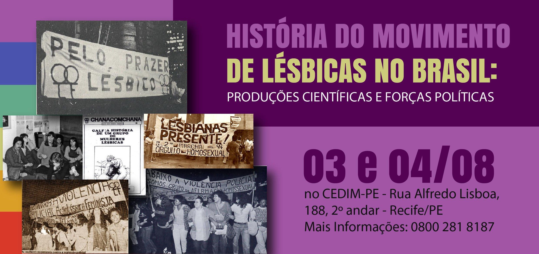 40de3f8149 Curso aborda História do Movimento de Lésbicas no Brasil - Notícias ...