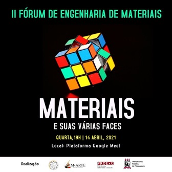 II Fórum de Engenharia de Materiais terá início na próxima quarta-feira (14)