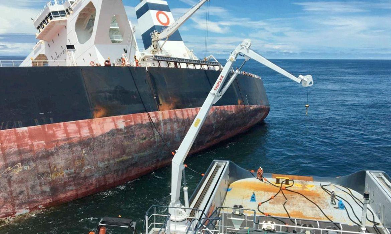 Marinha Anuncia Afundamento Programado do Navio Stellar Banner