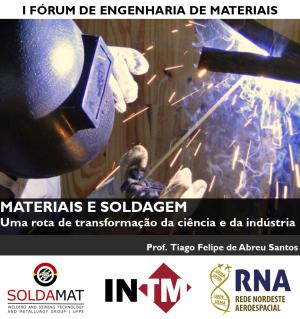 I Fórum de Engenharia de Materiais
